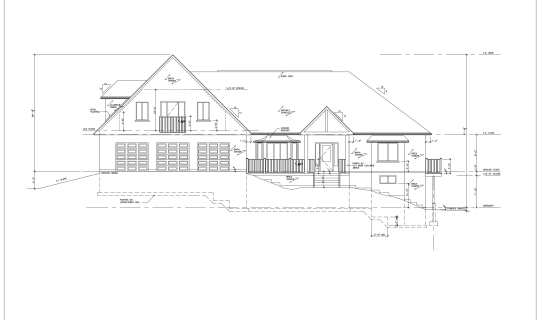 Custom Homes - Norfolk County Home - Elevation
